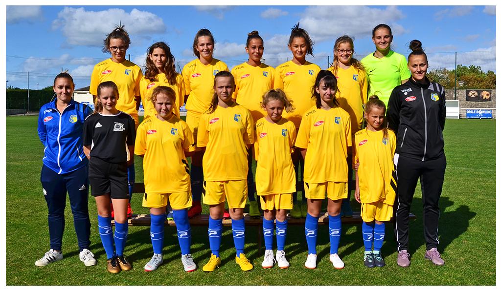 U13 féminines du Stade Portelois