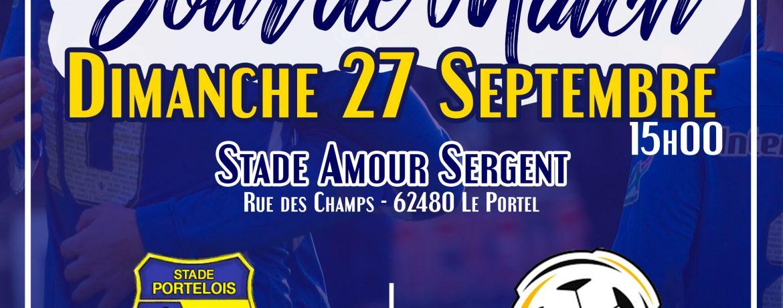 Match à Domicile Séniors A, Stade Amour Sergent.